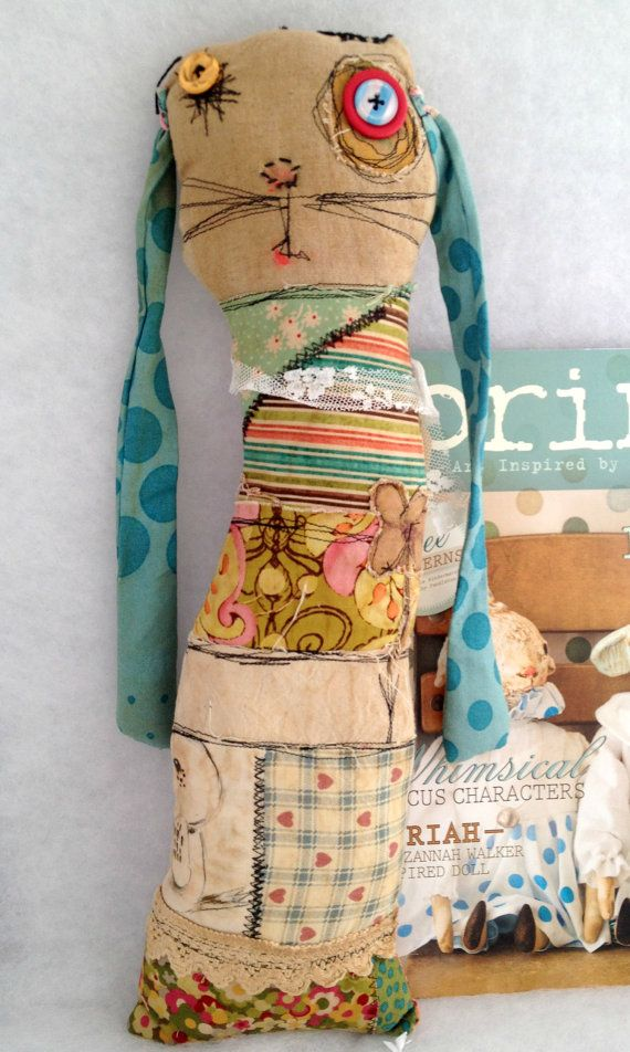 bunny monster doll - FIDDLEWINK as seen in Prims  by timssally LOVE it!!