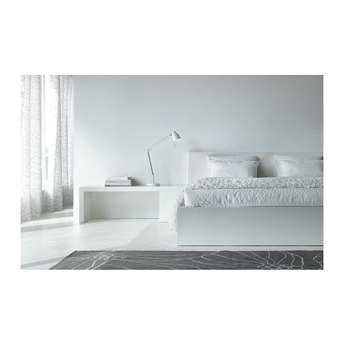 Malm bed frame low white - Ikea malm letto ...
