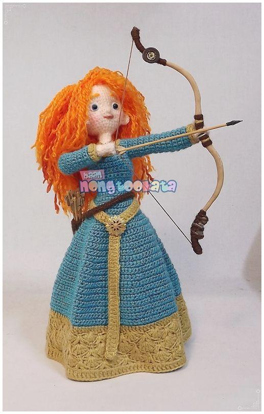 Amigurumi Disney Patronen : Merida Crochet Disney Pinterest