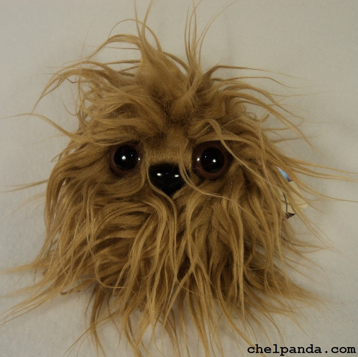 Well hello, little Furry Monster Plush by Chelpanda on Etsy