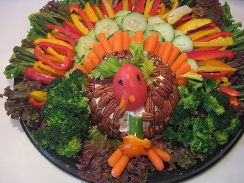 Turkey veg tray daily kos macca s meatless monday thanksgiving in my