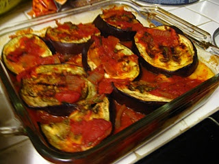 Layered Eggplant and Polenta Casserole | Favorite Recipes | Pinterest