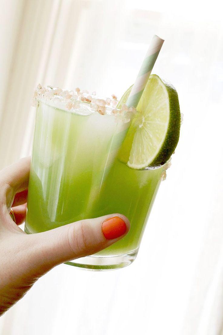 Cucumber margarita: 1 shot (1.5 to 2 oz.) tequila 1 shot (1.5 to 2 oz ...