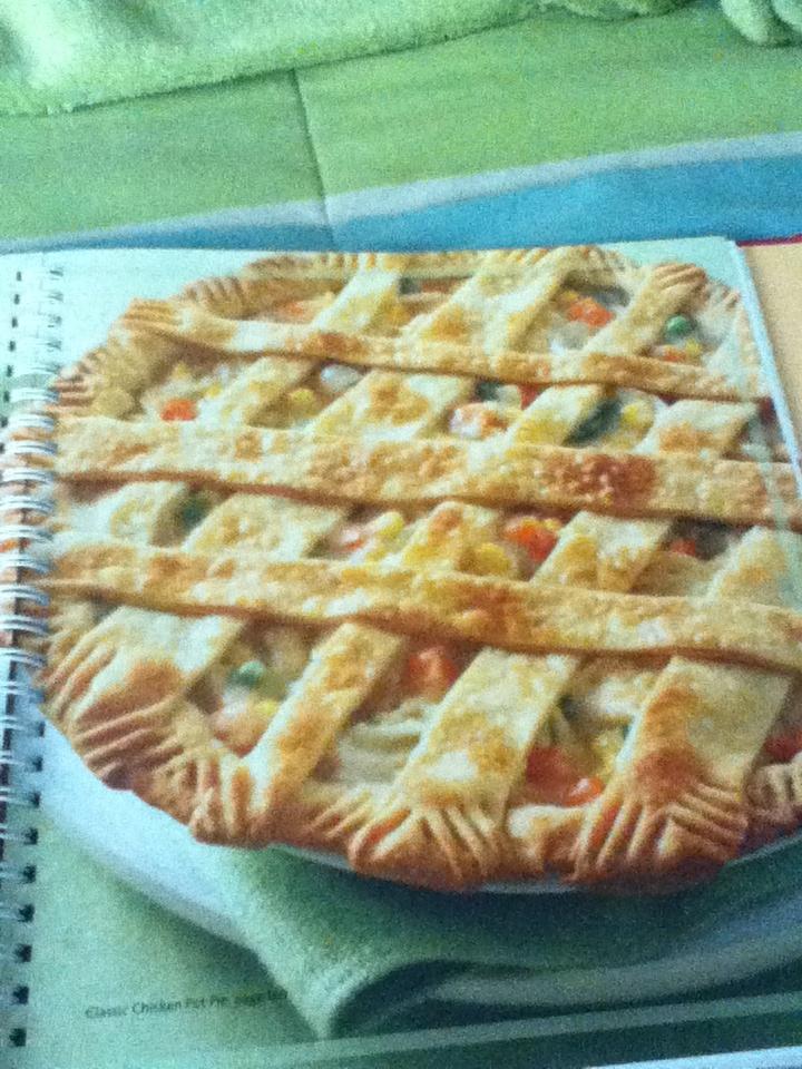 Classic chicken pot pie | Food | Pinterest