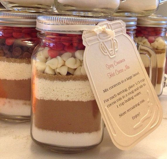 Spicy Cinnamon Gourmet Hot Cocoa Mix in a Jar 16 by SweetBitesMs, $10 ...