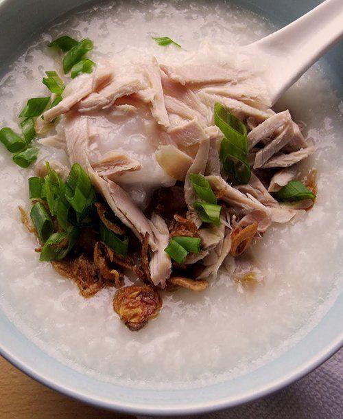 Turkey Congee #recipe via @ShuHan Lee Ingredients include jasmine rice ...