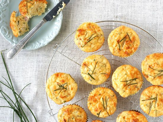 Ham and Cheese Muffins | Recipe