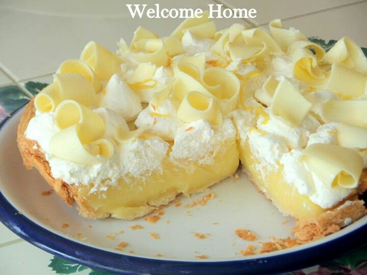 Moms Lemon Cream Pie | Recipes | Pinterest