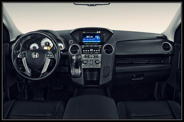 honda pilot interior length