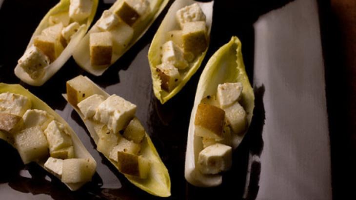 Pear and Feta Bites Recipe Recipe