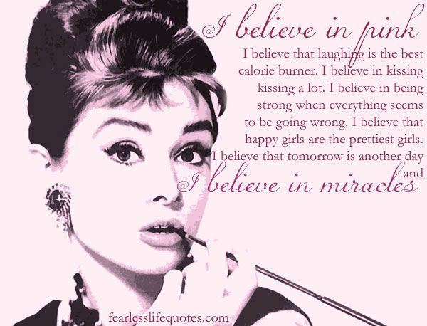 Audrey hepburn quotes life s lesson be positive and keep the fait