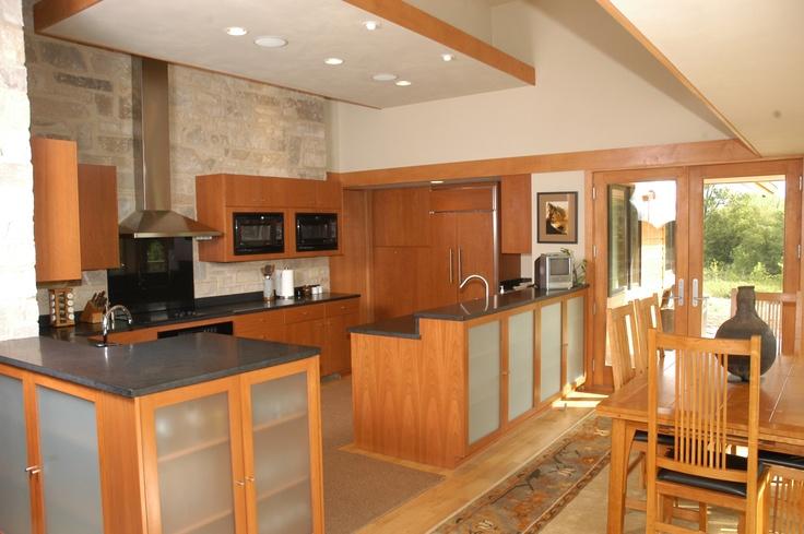 Barenzbuilders prairie style kitchen kitchen stuff for Prairie style kitchen