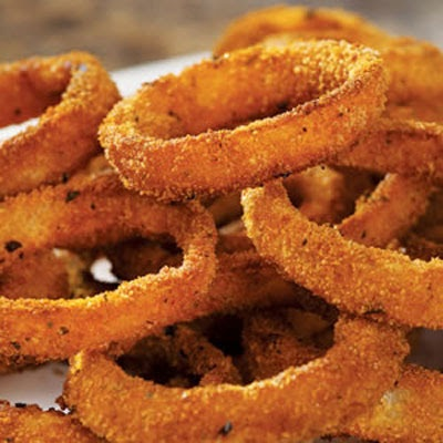 Low Fat Baked Onion Rings | Food! | Pinterest