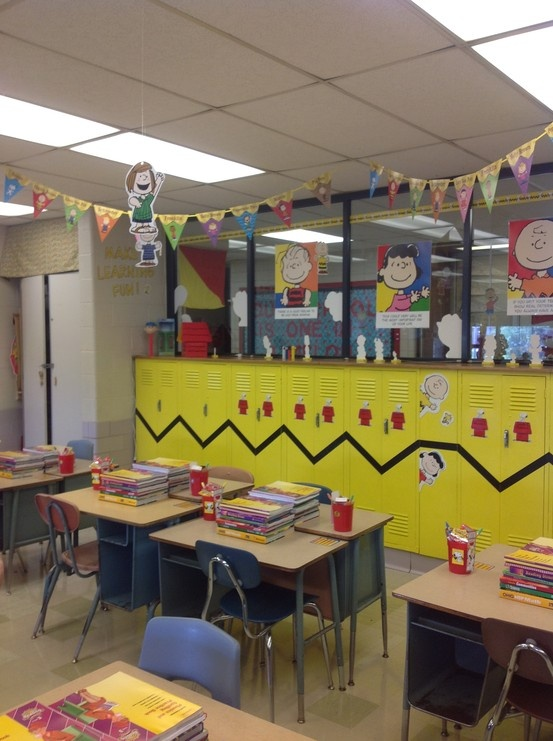 Classroom decor cool idea school ideas pinterest for Classroom mural ideas
