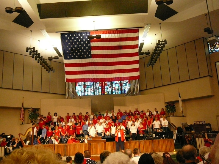 4th of july church decorations