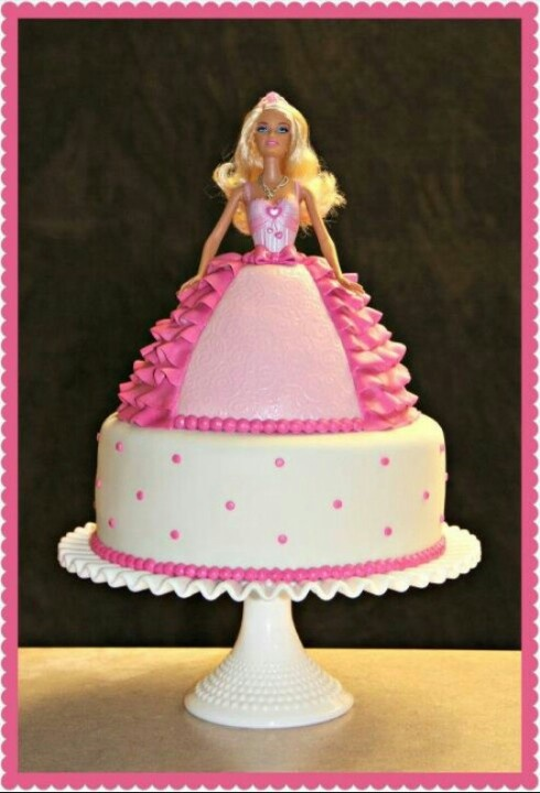 Images Of Barbie Birthday Cake : Barbie Cake Cakes & pastries Pinterest