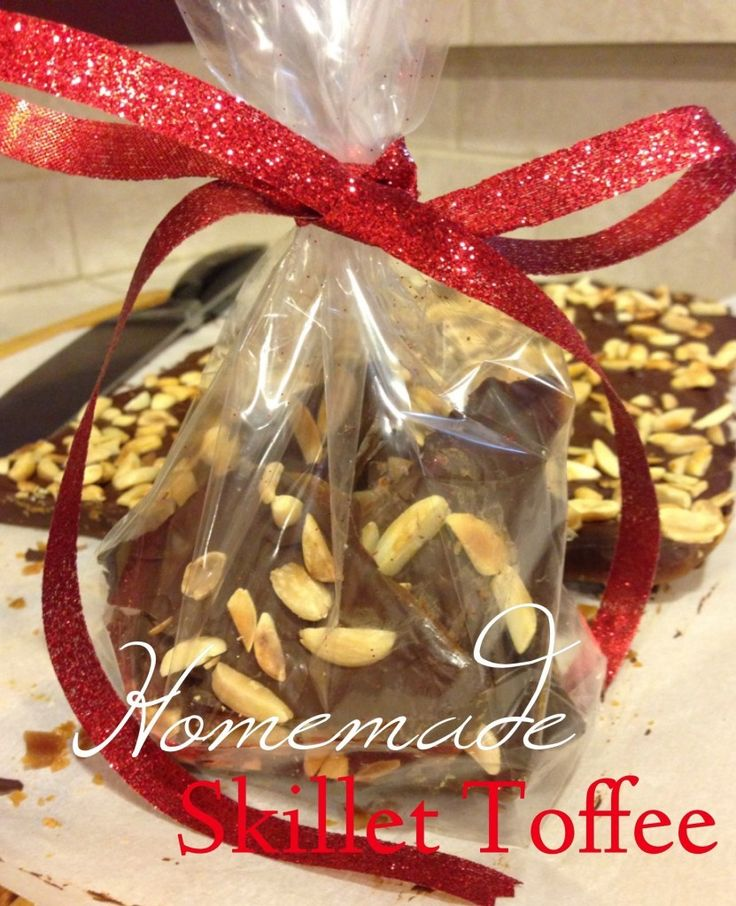 Homemade Gift Ideas - Skillet Toffee - Cookies & Corgis
