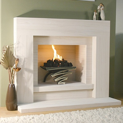 Pin by stephanie laughlin on fireplace pinterest for Cheap wooden fireplace surrounds