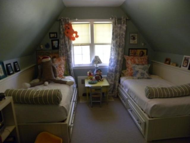 1940 colonial attic kids bedroom home ideas pinterest for 1940s bedroom ideas