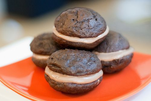 Double Chocolate Whoopie Pies | Kids stuff for Kids Tea Party | Pinte ...