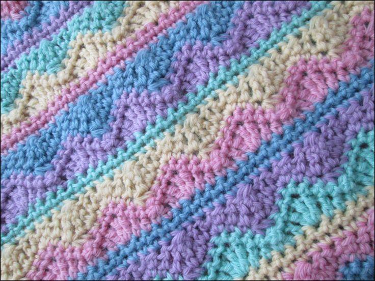 Crochet Pattern For Summer Baby Blanket : Pin by Carmel Thompson on Crochet Pinterest