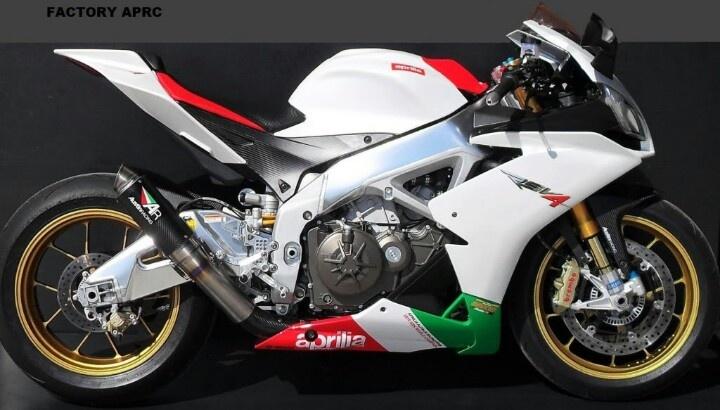 Aprilia RSV4 Austin Racing