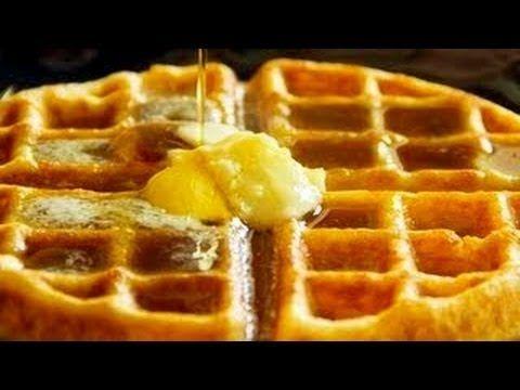 Classic Waffles Recipe | U will always be my SWEETheart.... | Pintere ...