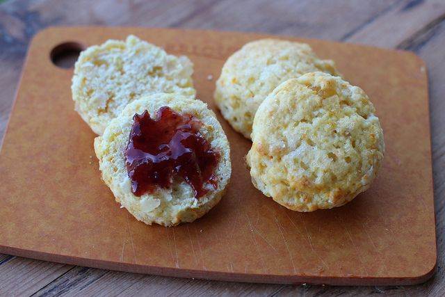 Cara Cara & Ginger Scone - Mark Bittman recipe by @foodlibrarian