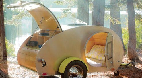 Ten affordable tear drop campers