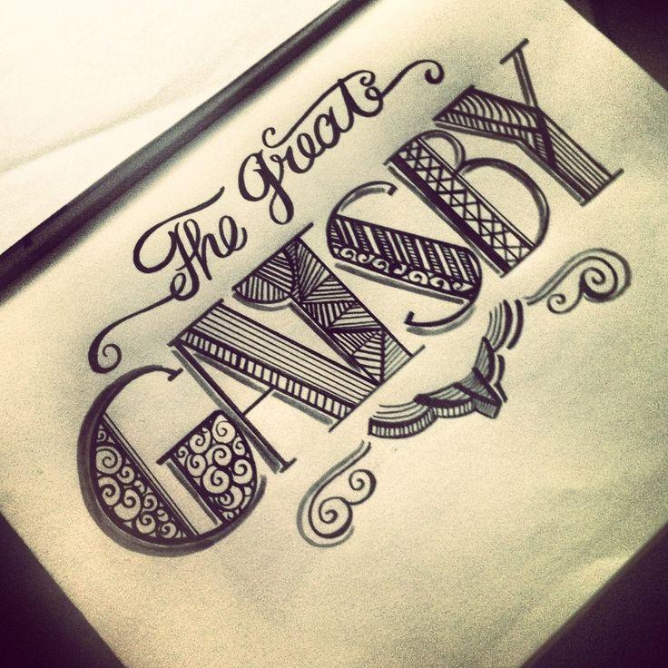 gatsby, retro, print, writing, font, black, cursive, design