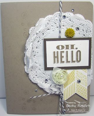 We love the simplicity of this well designed card.