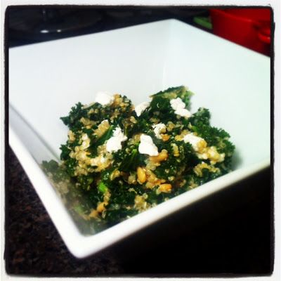 One Pot Kale and Quinoa Pilaf | Healthy Meals | Pinterest