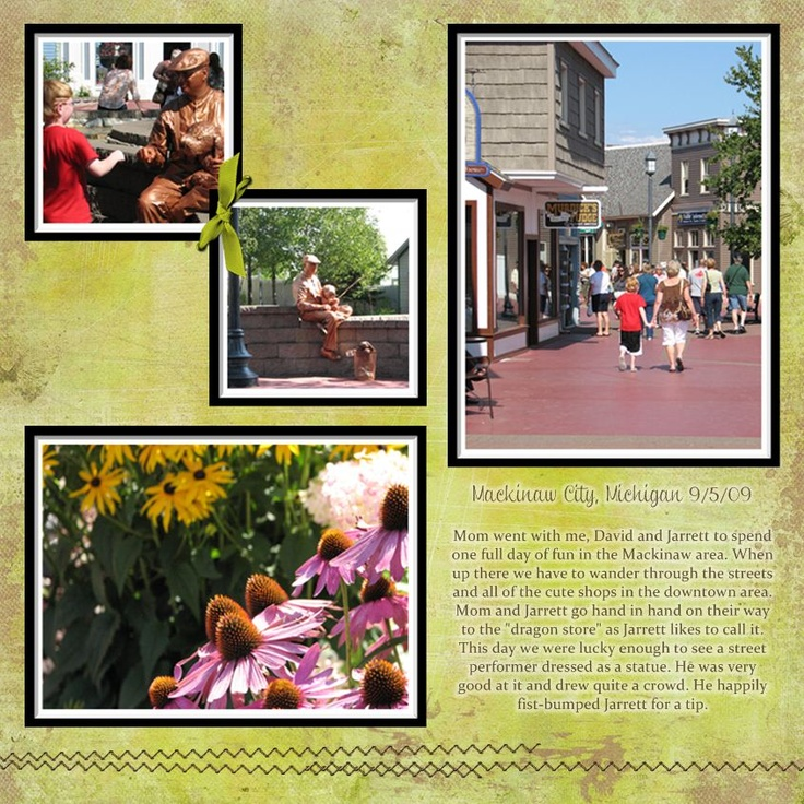 Scrapbook layout vacation scrapbook layout ideas for Great short vacation ideas