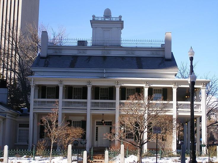 The Beehive House Salt Lake City Utah Salt Lake City