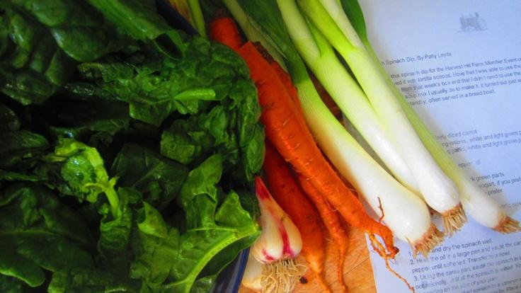 Fresh Spinach Dip | Summer too ! | Pinterest