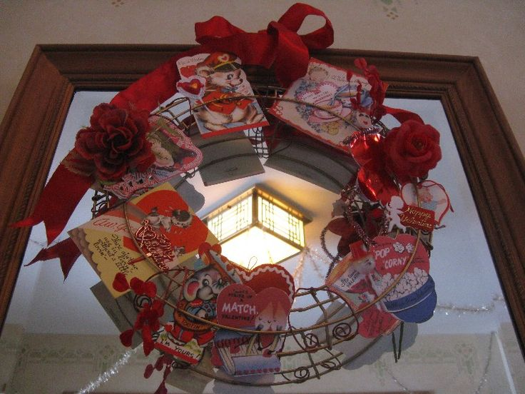 Make a Valentine display stand and show how much you're loved! #valentine #craft
