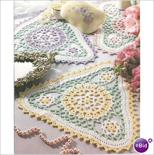 Crochet Doily Pattern Patio Garden Doilies on eBid New Zealand