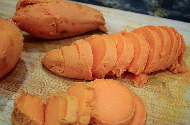 Maple Glazed Sweet Potatoes | Recipe