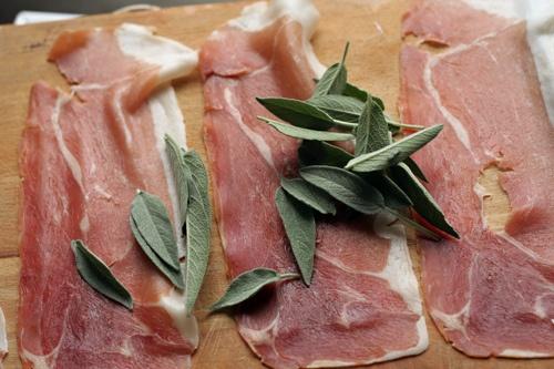 Feta & Prosciutto Rolls Recipe — Dishmaps