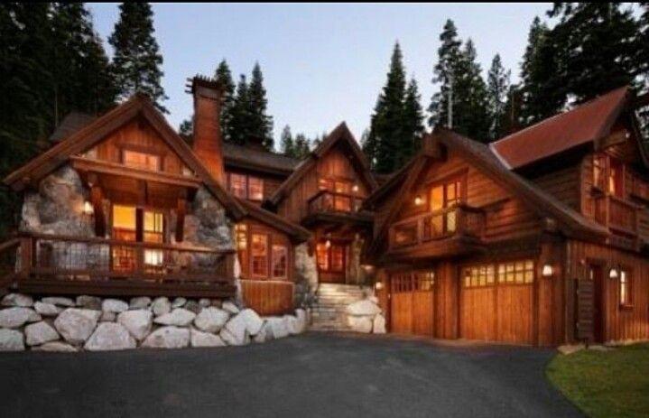 Log Cabin Home Sweet Dream Home Pinterest