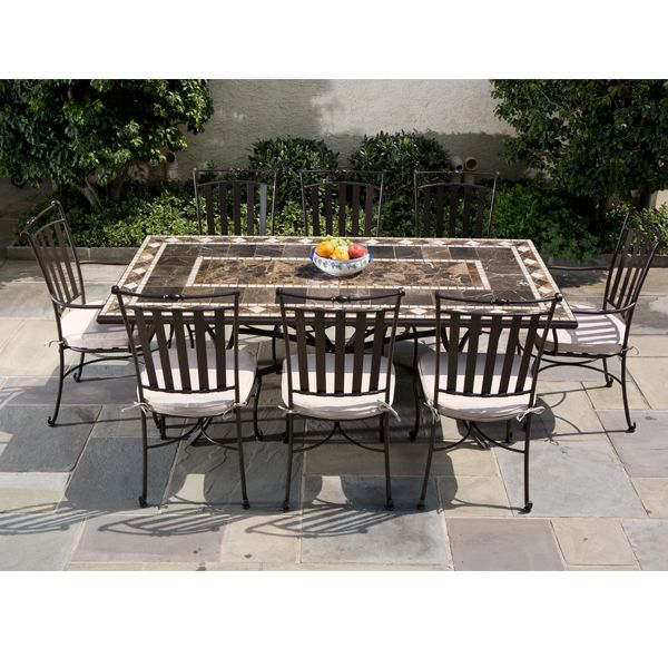 Pin by karen cardarelli on roofdeck pinterest for Used patio dining sets
