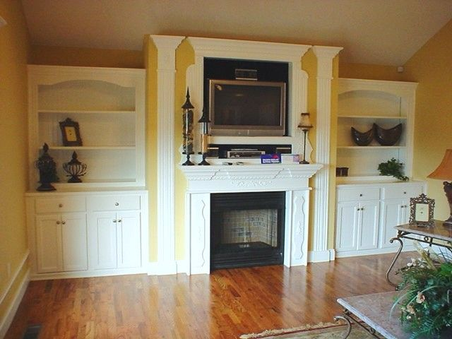 living room built ins home pinterest