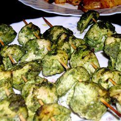 ... as it is warm. I grill it. Chicken Hariyali Tikka Allrecipes.com