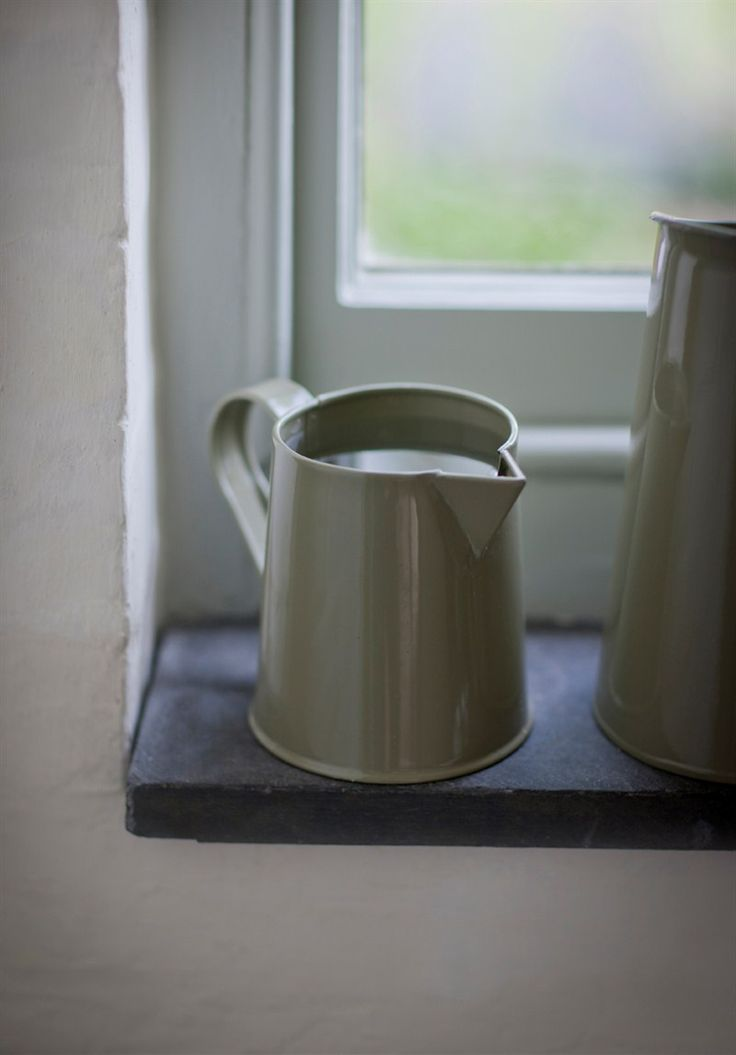Retro Steel Mini Jug in Gooseberry at Garden Trading