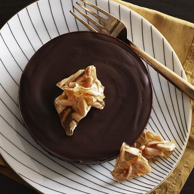 "chocolate honey almond tarts from ""redbook"" http://www.redbookmag.c..."