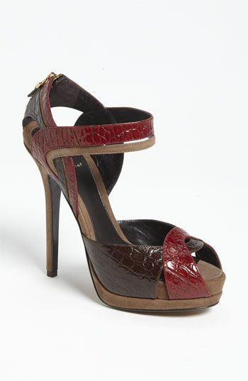 Fendi 'Let Me In' Ankle Strap Sandal