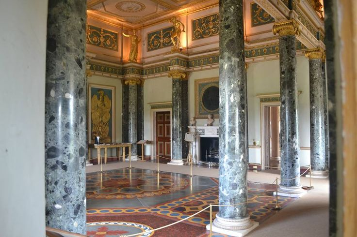 The Ante Room At Syon Park Interiors Of Castles
