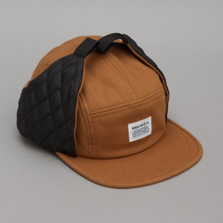 Norse Projects Ear Flap Duck Canvas Cap