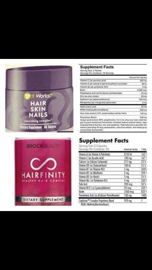 -and-after hair growth pics? Well, our NEW product Hair Skin Nails ...