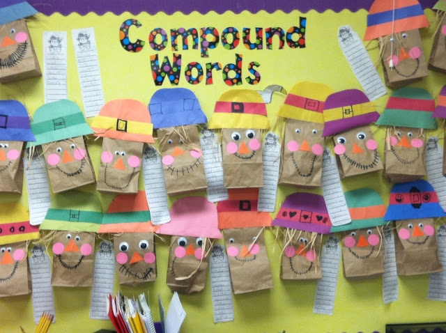 Compound Words Bulletin Board
